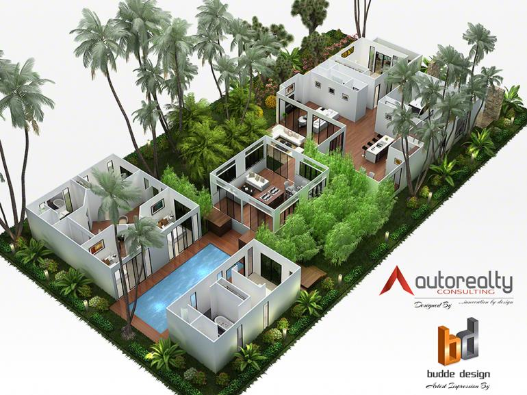 View Photo: 3D floor plan - Jakarta