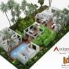 3D floor plan - Jakarta