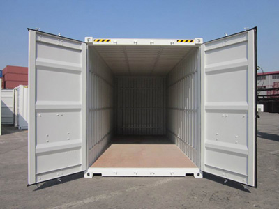 How much can I fit in a 20ft moving container for relocating interstate?