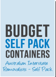 Visit Profile: Budget Self Pack Containers
