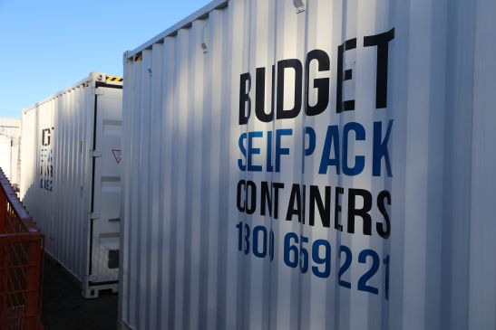 View Photo: Budget Self Pack Containers