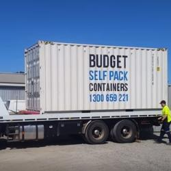 View Photo: Moving container for self pack removals