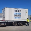 Moving container for self pack removals