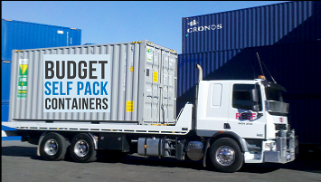 View Photo: Moving Interstate with Budget Self Pack Containers