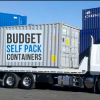 Moving Interstate with Budget Self Pack Containers