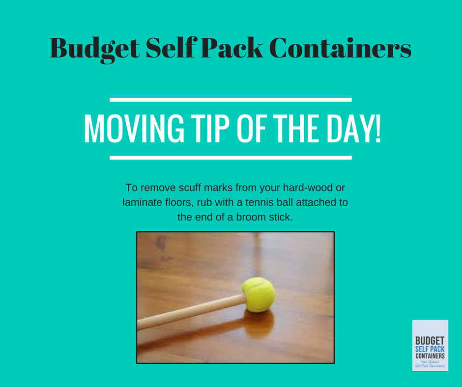View Photo: Remove scuff marks from your hard floor