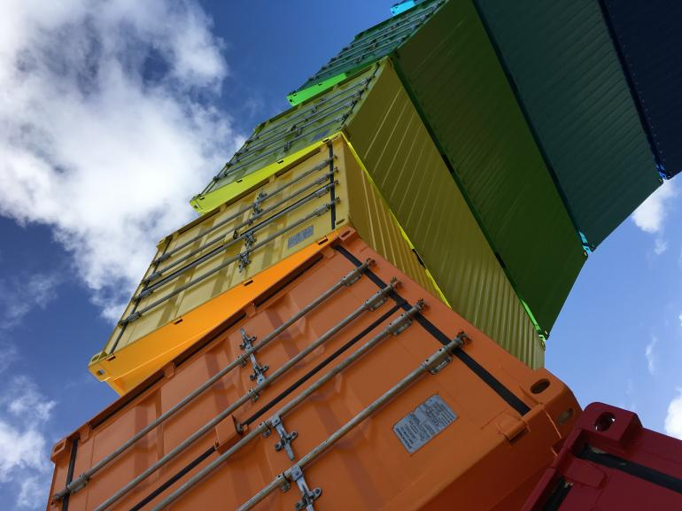 Shipping Container Artwork in Perth