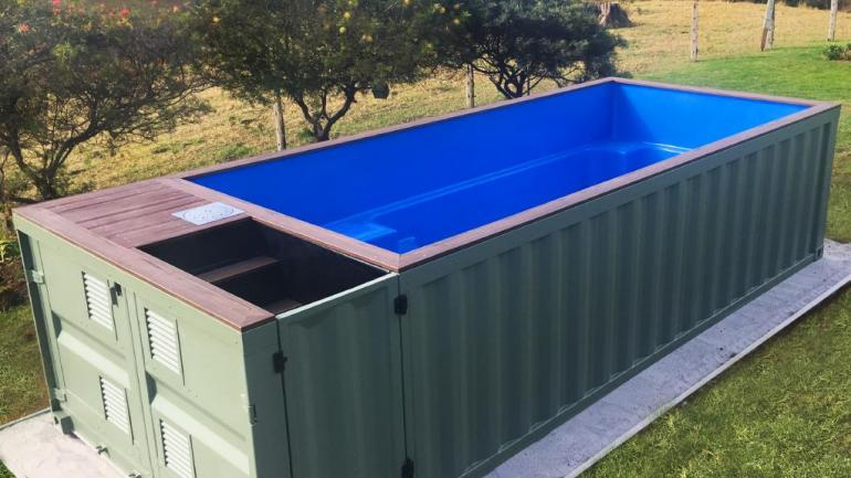 View Photo: Shipping Container Swimming Pool