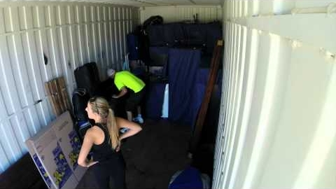 Watch Video : 20ft Moving Containers - Perth to Sydney with Car - Time Lapse