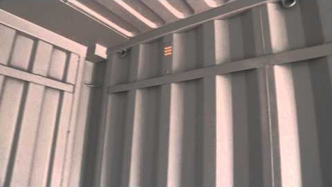 Watch Video : Tour of a removalist shipping container