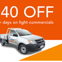 View Photo: $40 off 3+ days on light commercial