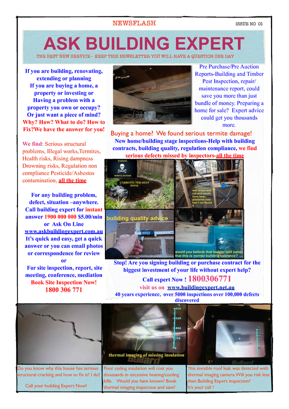 View Brochure: Ask Building Expert