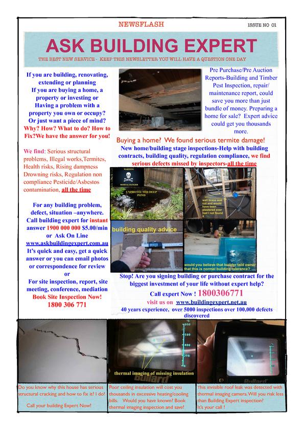 Browse Brochure: Ask Building Expert