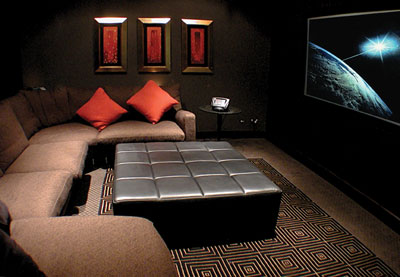 View Photo: CSR Gyprock Home Theatre Sound Containment Systems
