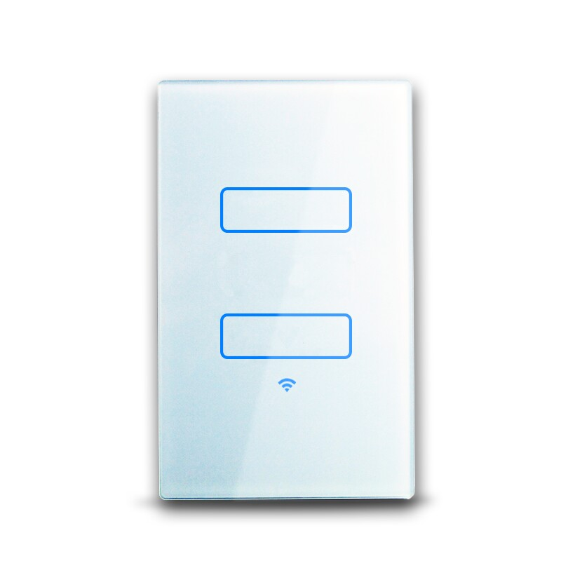 View Photo: WiFi Light Switch Two-Gang