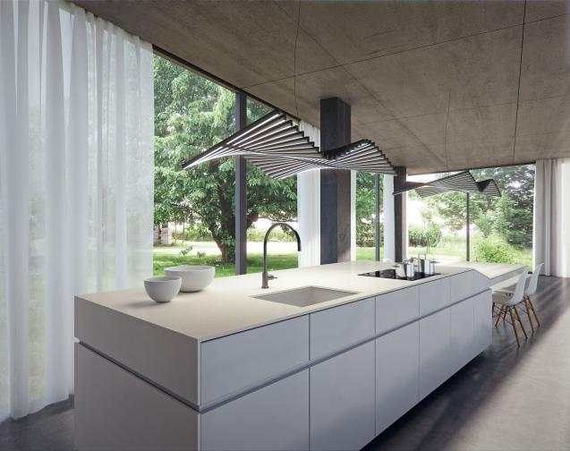 Caesarstone extends its industrial look concrete range