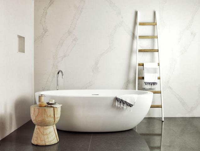 Read Article: Fresh ideas with Caesarstone bathroom surfaces
