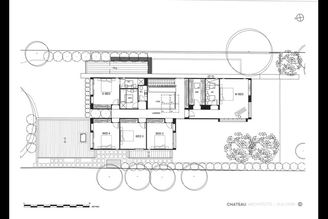 Luxury house plans - Award winner in Sydney