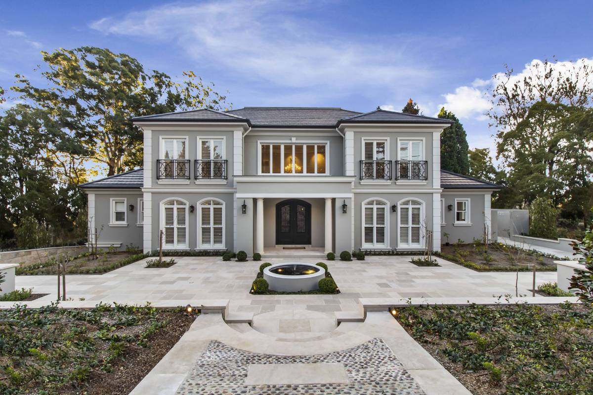 View Photo: Pymble House - French Provincial Architecture