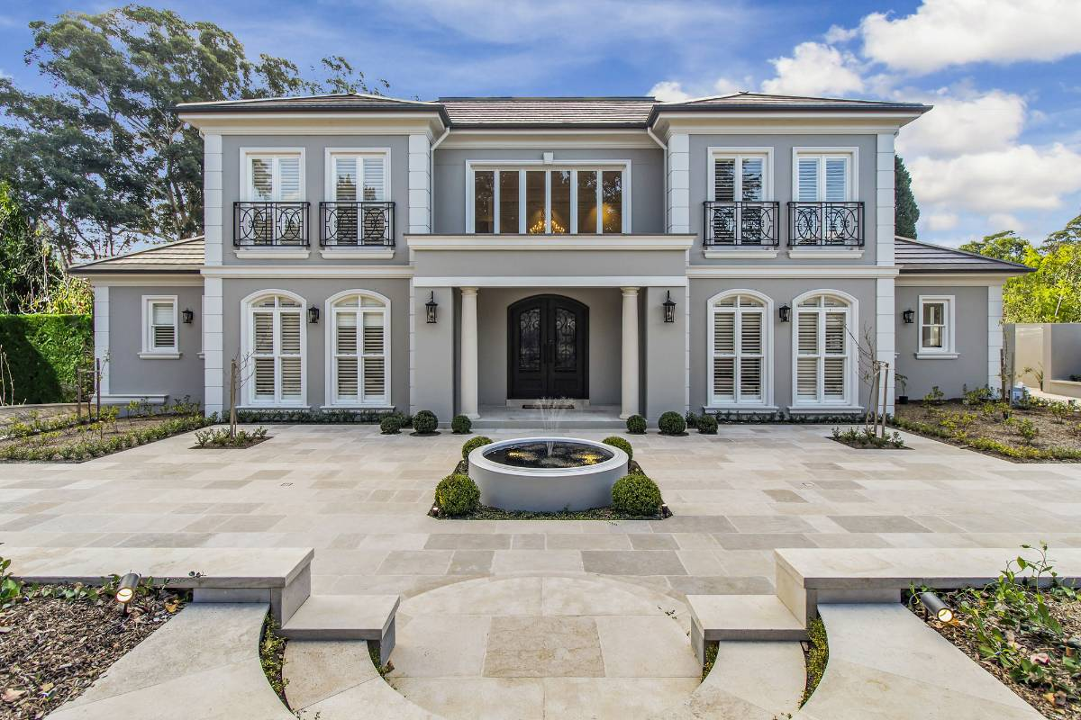 View Photo: Pymble House - French Provincial Architecture on Show