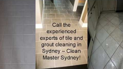 Watch Video: Local Tile and Grout Cleaning Sydney