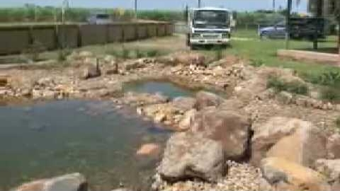 Watch Video: Rock Pond Waterfall