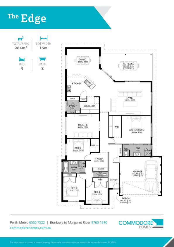 Browse Brochure: The Edge Home Design