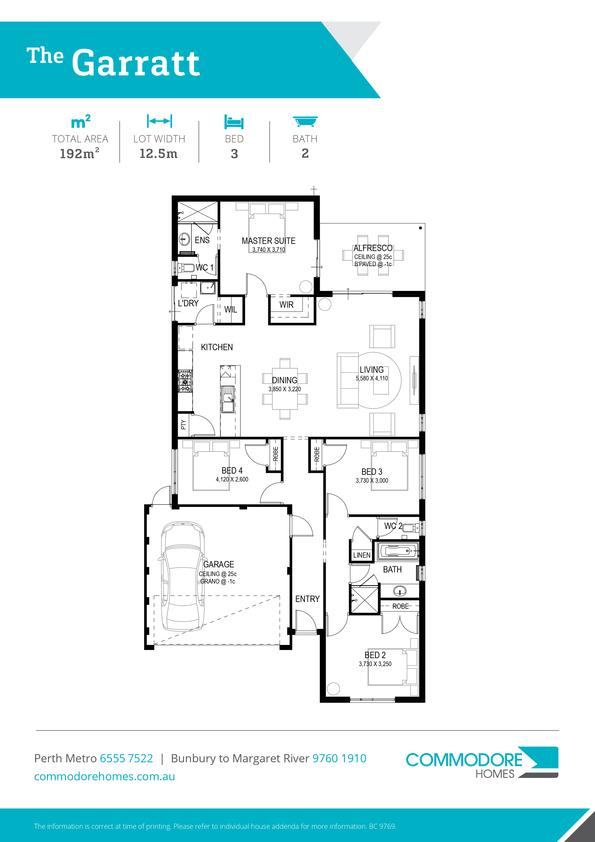 Browse Brochure: The Garratt Home Design