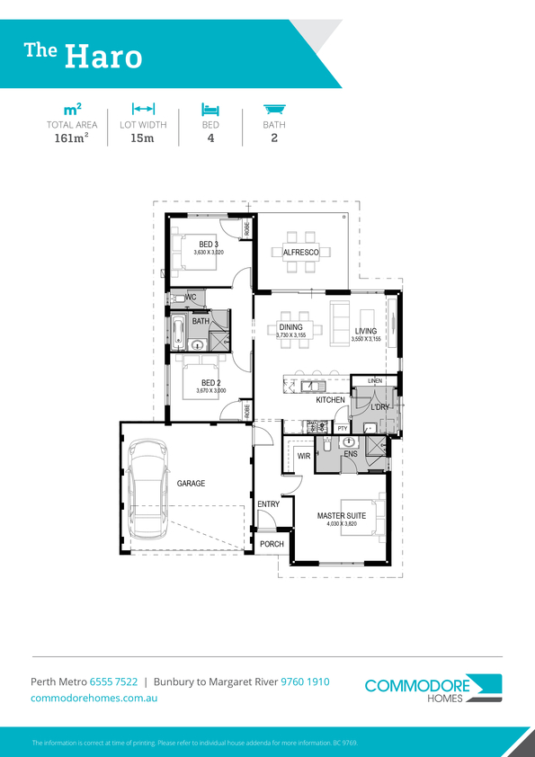 Browse Brochure: The Haro Home Design