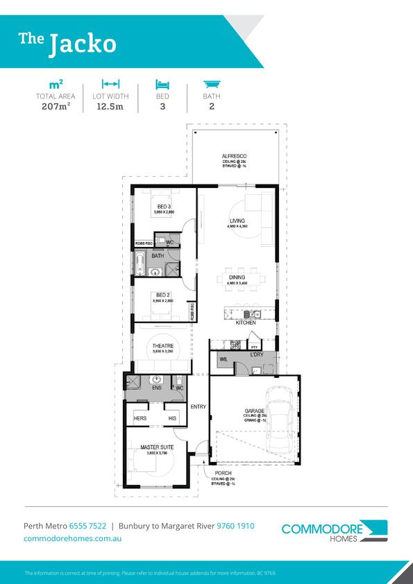 Browse Brochure: The Jacko Home Design