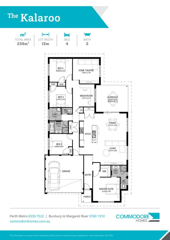 Browse Brochure: The Kalaroo Home Design