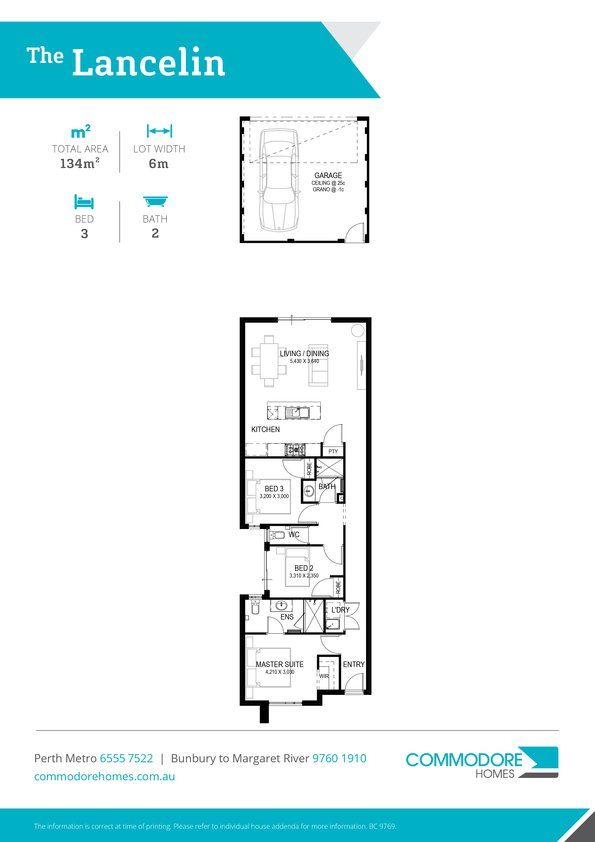 Browse Brochure: The Lancelin Home Design