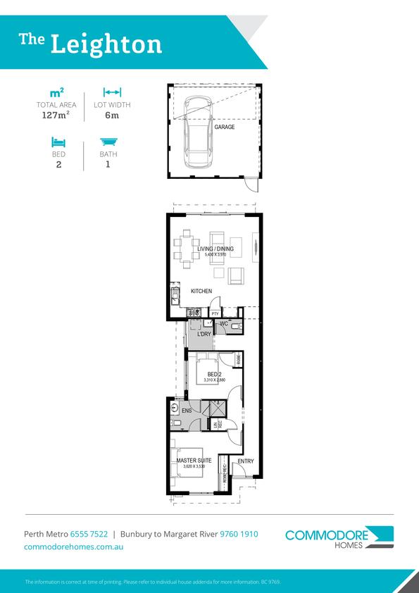 Browse Brochure: The Leighton Home Design