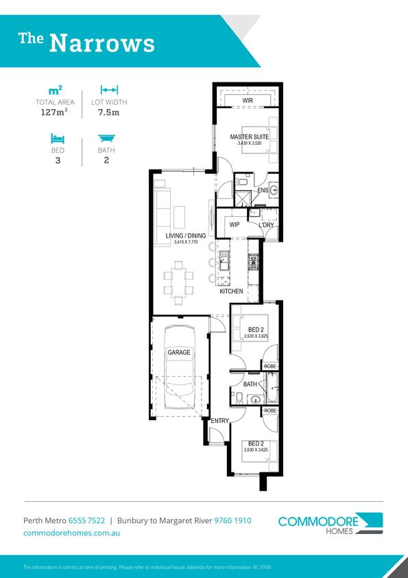 Browse Brochure: The Narrows Home Design