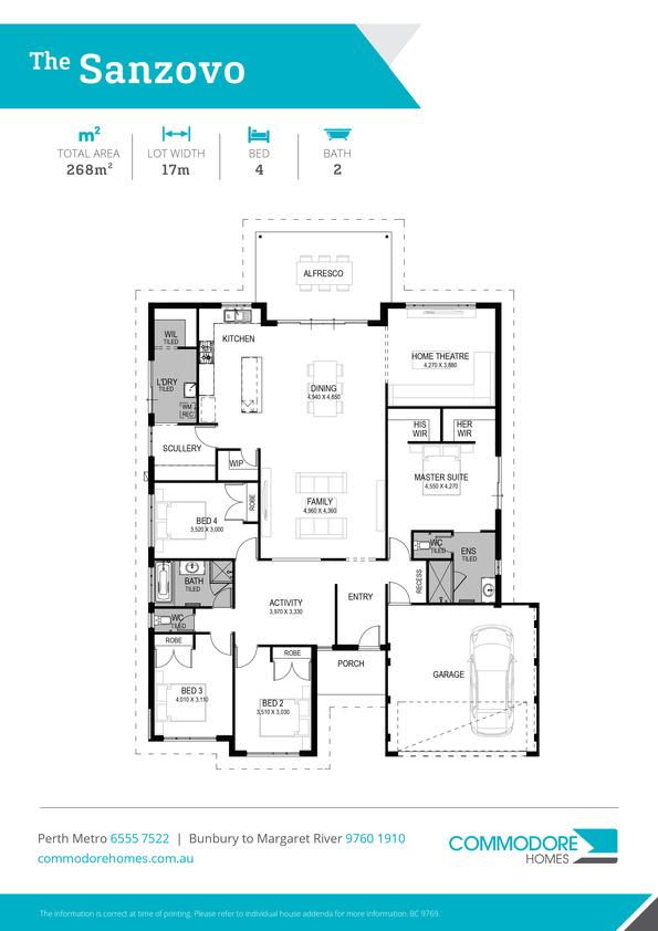 Browse Brochure: The Sanzovo Home Design