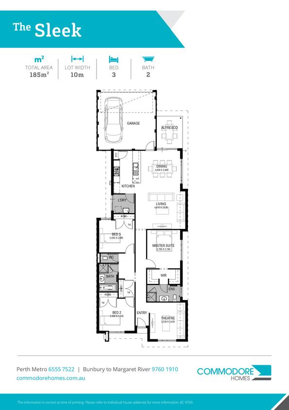 Browse Brochure: The Sleek Home Design