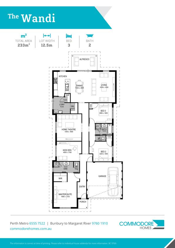 Browse Brochure: The Wandi Home Design