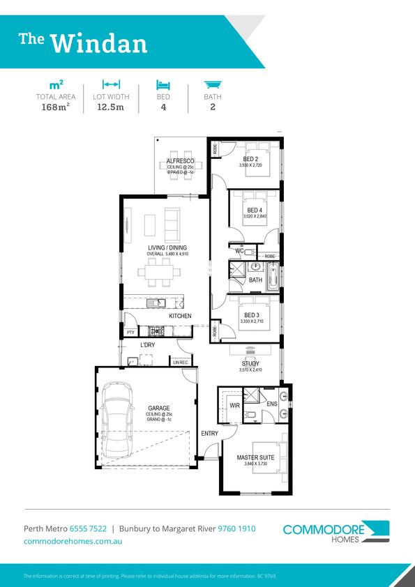 Browse Brochure: The Windan Home Design