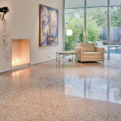View Photo: Polished concrete floor