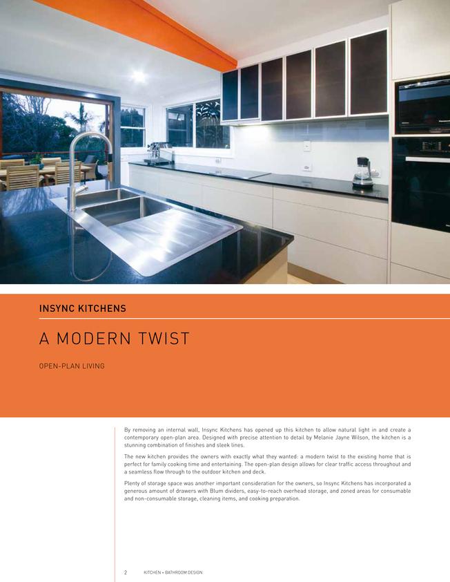 Browse Brochure: Queensland Kitchen + Bathroom Design.