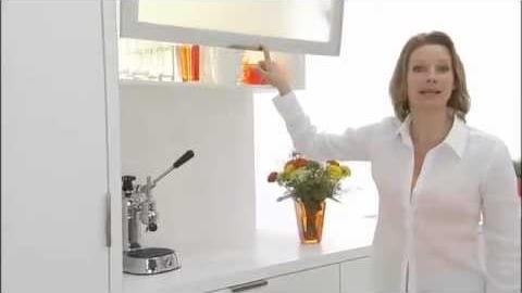 Watch Video : BLUM AVENTOS, Kitchen Door Hinge Lift systems.