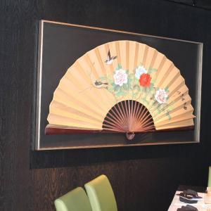 View Photo: Massive framed fan artwork
