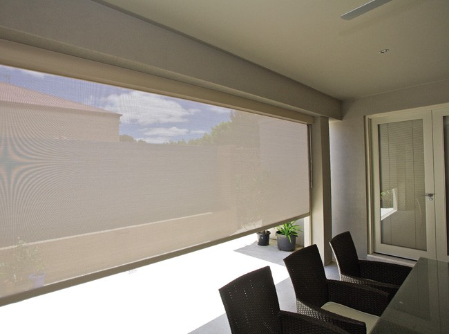 View Photo: Cream Full Width Shade Blind