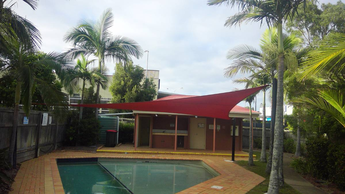 View Photo: Hotel Pool Shade Sail