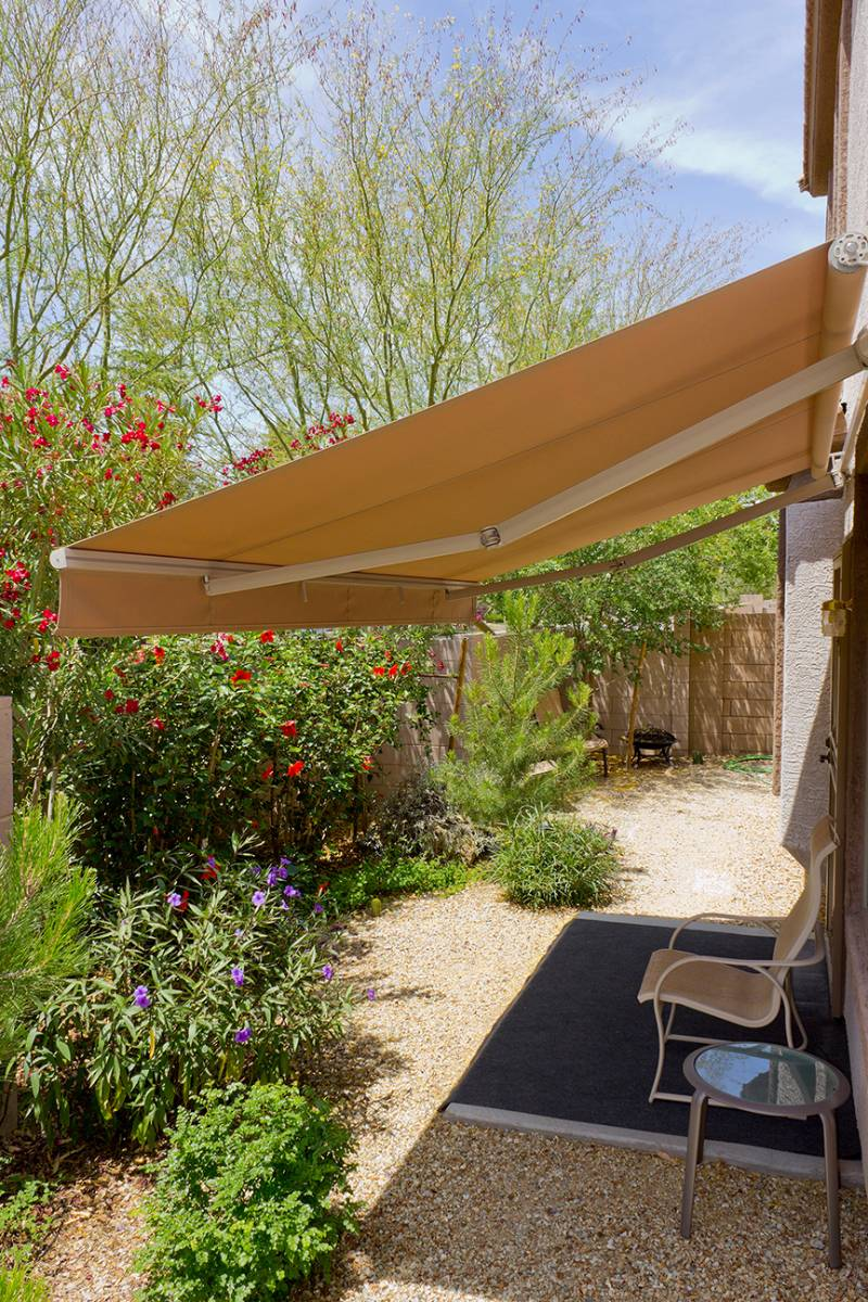 View Photo: Medium Folding Arm Awning
