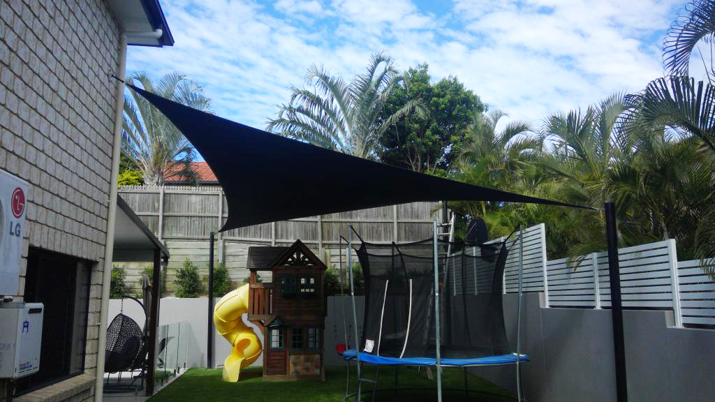 View Photo: Shade Sail Over Play Space