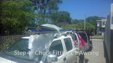 Watch Video : Mt Gravatt Folding Arm Awning Installation
