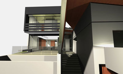 Creative architecture with Stair Design & Composition