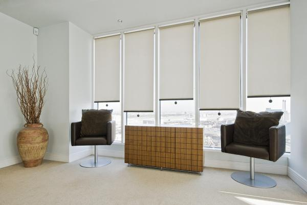 Block Out Roller Blinds On Wide Photo : Curtains and Blinds Direct ...