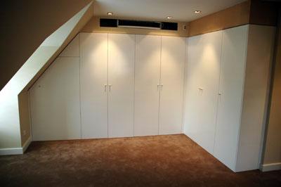 View Photo: Robe - Flat Panel Polyurethane wardrobe.